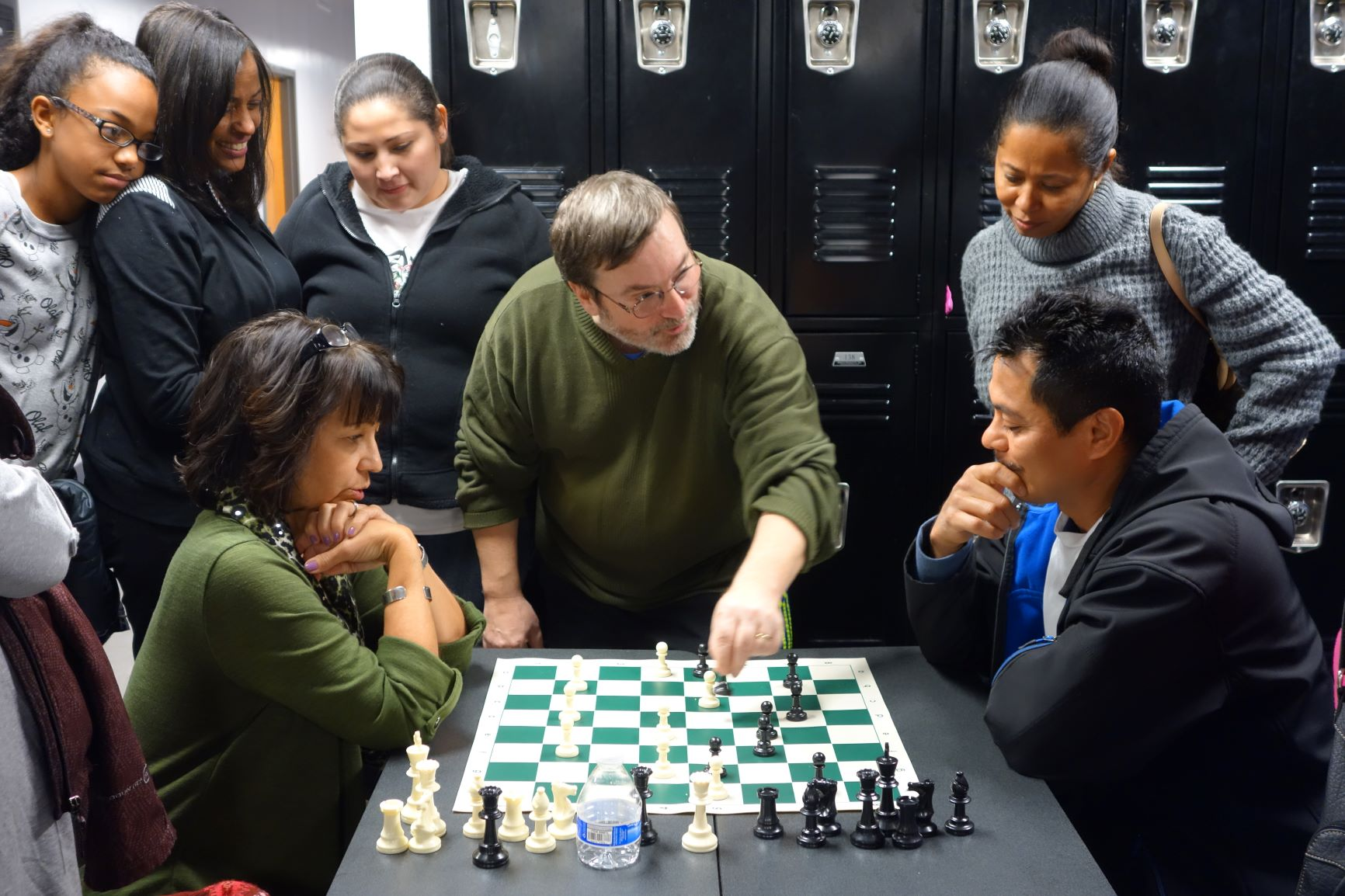 Teach parents to play chess.